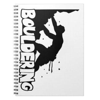 Bouldering_Print Men Notebook