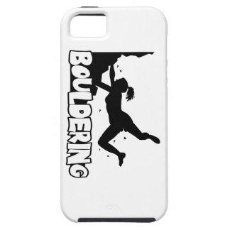 Bouldering_print women iPhone 5 case