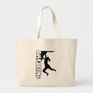 Bouldering_print women large tote bag