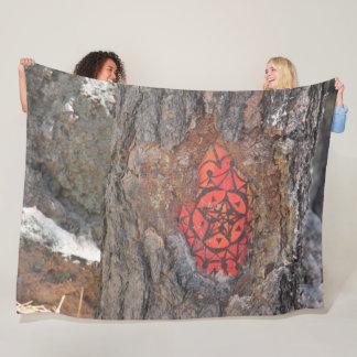 Boulders Across New Mexico Fleece Blanket