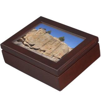 Boulders Across New Mexico Keepsake Box