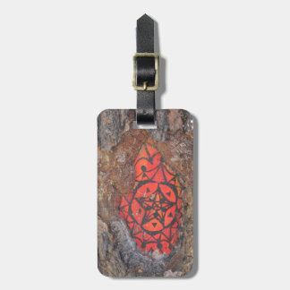 Boulders Across New Mexico Luggage Tag