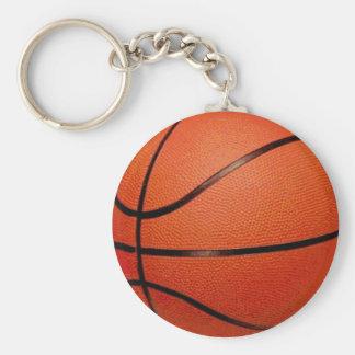 Boule de basket-ball porte-clé rond