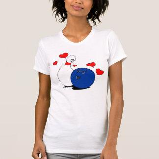 Boule de bowling de T Chemise-Valentine et Madame Tshirt