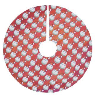 Boule de golf dans le motif de chapeau de Père Jupon De Sapin En Polyester Brossé