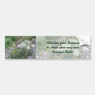 Boule givrée : Fleurs sauvages alpins Autocollant Pour Voiture