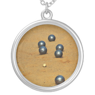 Boule Silver Plated Necklace