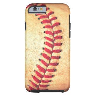 Boule vintage de base-ball coque tough iPhone 6