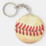 Boule vintage de base-ball porte-clé