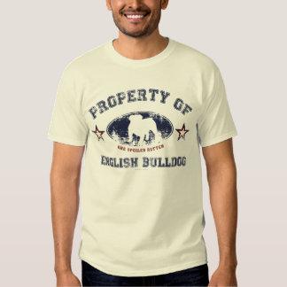 Bouledogue anglais tee shirt