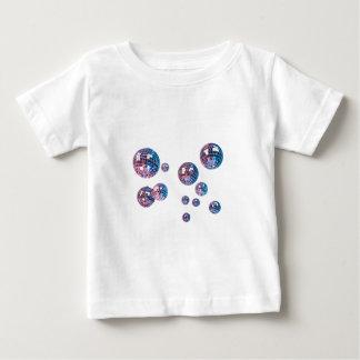 boules de disco t-shirt pour bébé