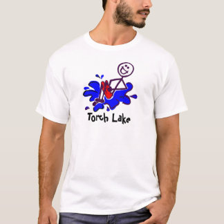 Boulet de canon de lac torch t-shirt
