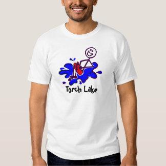 Boulet de canon de lac torch t shirts
