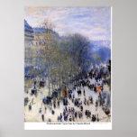 Boulevard des Capucines by Claude Monet Posters