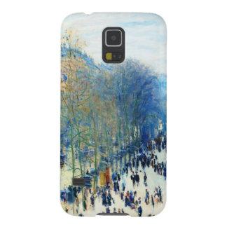 Boulevard des Capucines Claude Monet fine art Galaxy S5 Covers