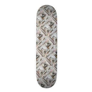 Boulevard-Hand Painted Abstract Brushstrokes Skate Board Deck