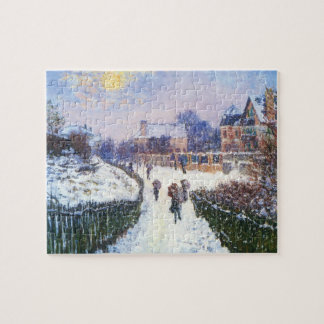 Boulevard Saint Denis Argenteuil by Claude Monet Jigsaw Puzzle
