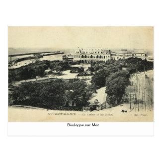 Boulogne sur Mer, France Postcard