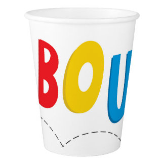 Bounce House Birthday Party Supply Paper Cup