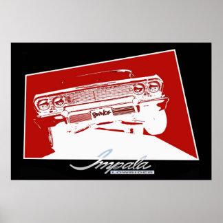 BOUNCE Impala Lowrider Poster