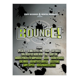 Bounce! Poster