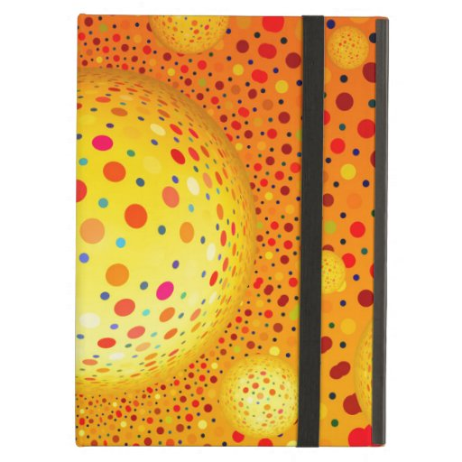 Bouncing Spotted Balls iPad Air Covers