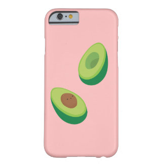 Bouncy Avocado Halves Barely There iPhone 6 Case