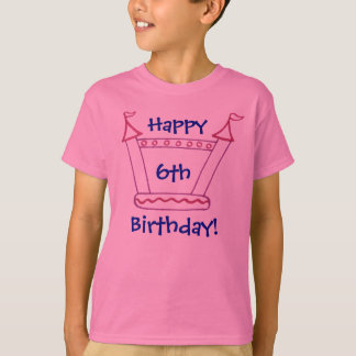 Bouncy House Girls Birthday Party T-Shirt