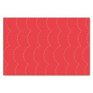 Bouncy Red Tissue Paper