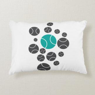 Bouncy tennisballs accent pillow