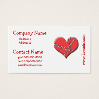 Bound by Love Business Cards