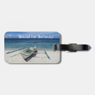 Bound for Boracay Luggage Tag