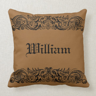 """Bound Monsters Cotton 20"""" Pillow"""