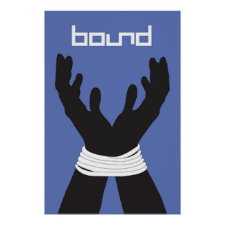 Bound Records Hands Tied Poster