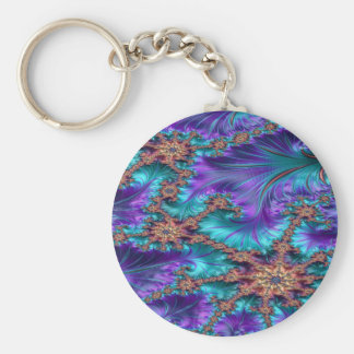 Boundary and Conflict Fractal Design Keychain