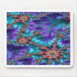 Boundary and Conflict Fractal Design Mouse Pad
