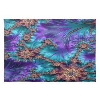 Boundary and Conflict Fractal Design Placemat