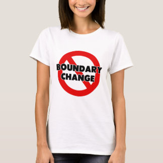 Boundary Change T-Shirt