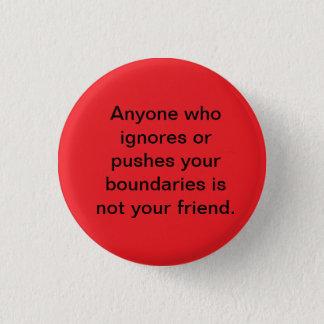 Boundary pusher button
