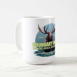 Boundary Waters CAW (Moose) WT Coffee Mug