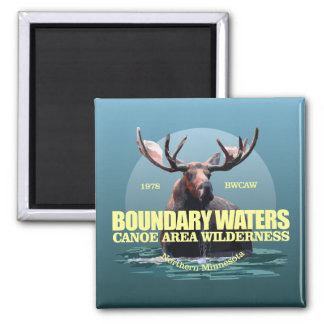 Boundary Waters CAW (Moose) WT Magnet
