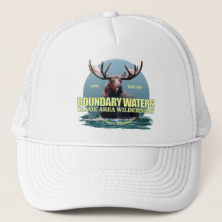 Boundary Waters CAW (Moose) WT Trucker Hat