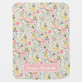 Bountiful Blooms | Personalized Baby Blanket