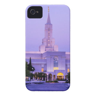Bountiful LDS Mormon Temple Sunrise - Utah iPhone 4 Cases