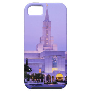 Bountiful LDS Mormon Temple Sunrise - Utah iPhone 5 Cases