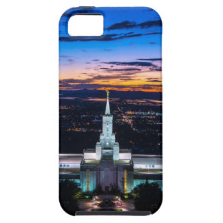 Bountiful Lds Mormon Temple Sunset iPhone 5 Cases