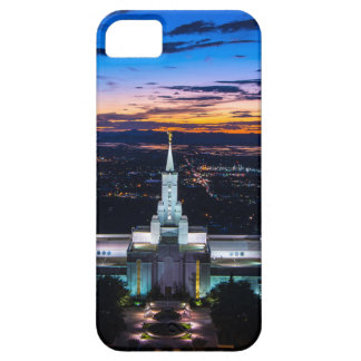 Bountiful Lds Mormon Temple Sunset iPhone 5 Covers