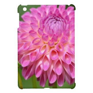 Bountiful Pink Dahlia and Bud Poster iPad Mini Cover