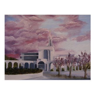 Bountiful Temple Postcard