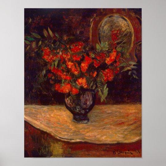 Bouquet, 1884 poster